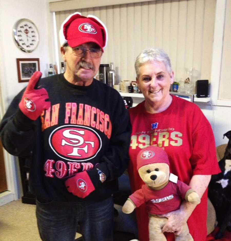 San Francisco 49ers fans on the Central Coast are pumped up for Sunday's Super Bowl. Upload your fan photos on ulocal by clicking here!