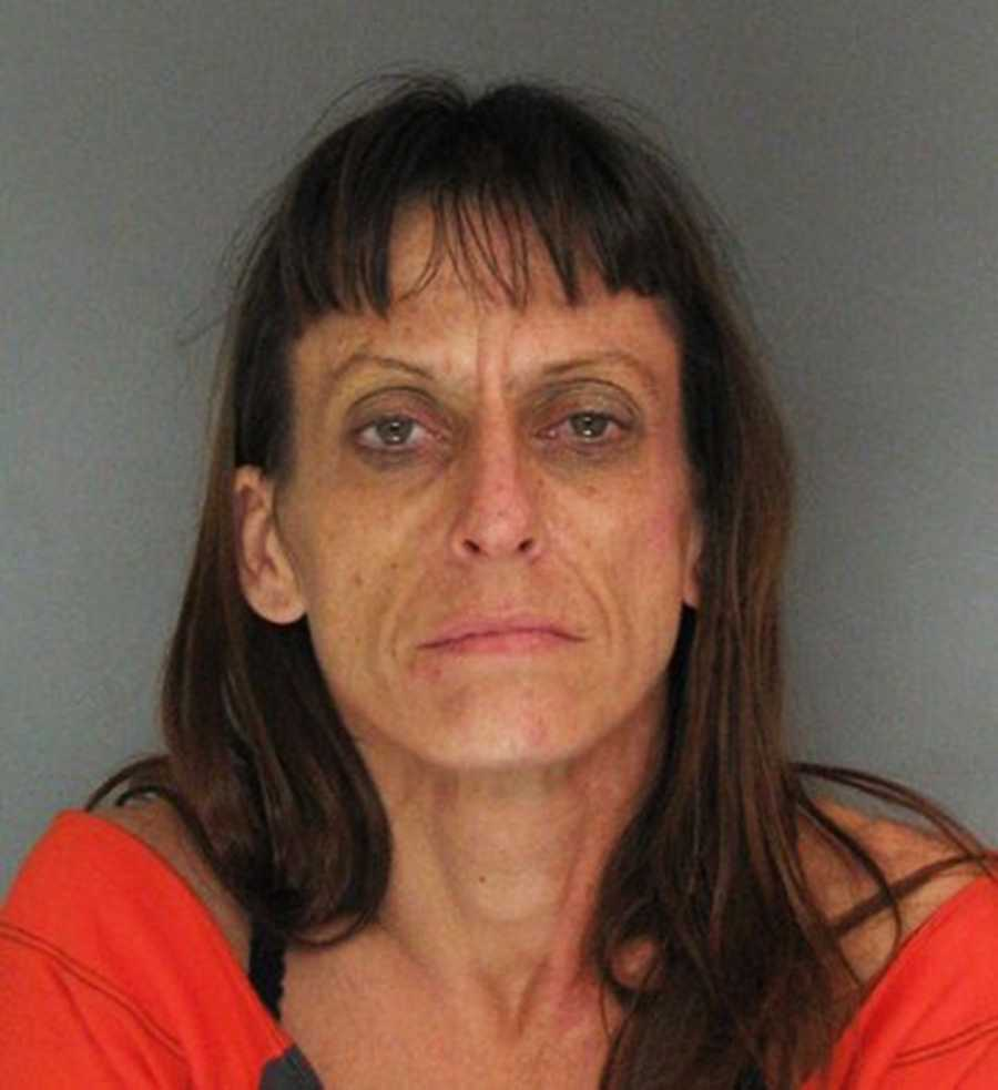Amina Hitchcock, 39, was arrested in Soquel on Jan. 28 on drug charges.