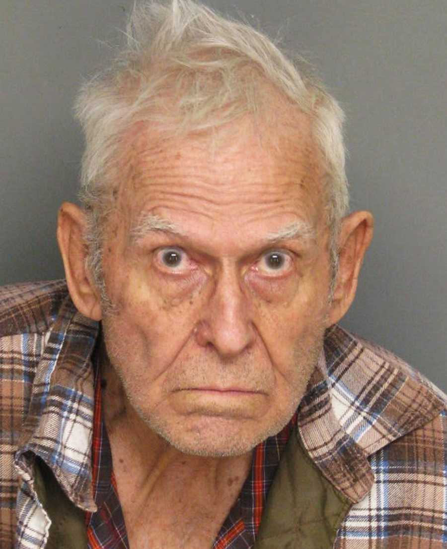 An 85-year-old Prunedale man was arrested on attempted murder charges on Jan. 2 after sheriff's deputies said he shot his neighbor and a goat.Phillip Dexter, who lives on Avery Lane and was born in 1927, shot his neighbor, Cesario Diaz, three times on the first day of 2013, Monterey County Sheriff's deputies said.Dexter also shot one of Diaz' goats. Diaz and the goat were not struck by bullets, but rather pellets from the shell fired from Dexter's Winchester 1912 model shotgun.Diaz was transported to Natividad Medical Center to be treated for pellet wounds in his rib cage, arm and leg. Both Diaz and the goat are expected to recover from their injuries.Investigators did not release a motive in the shootings. Dexter was booked into the Monterey County Jail on charges of attempted murder, firing a gun near an inhabited dwelling, and animal cruelty.