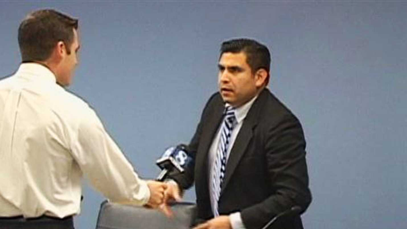 Despite being a publicly elected official, Jose Castaneda has declined nearly 10 interviews with KSBW reporters.