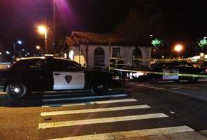 Silva was standing with another man outside the Red Room bar on the corner of Locust and Cedar streets when he was shot multiple times. Silva was declared dead at the scene. (Feb. 9, 2013)