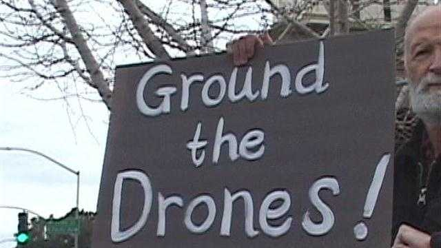 Activists fear Drone use stateside.