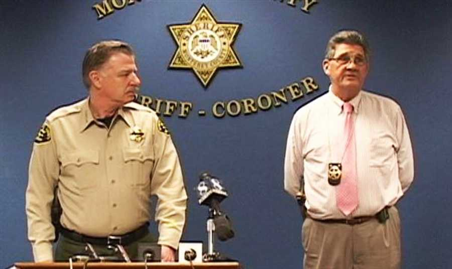 """Sheriff's Sgt. Terry Kaiser, right, said the Castroville baby's disappearance did not meet the right criteria to make an Amber Alert, mostly because investigators did not know what type of vehicle the suspect was driving.""""It's not a matter of regret. We didn't meet the criteria, so we (had) no ability to issue one,"""" Kaiser said."""
