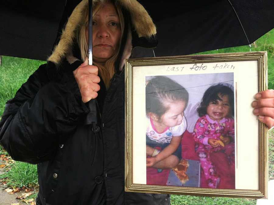"""The baby's mother, Susan Morales, was standing in pouring rain when deputies found her daughter's body.""""My daughter doesn't deserve this, she's only 10 months old,"""" she said.""""We are a small community in Castroville. We all stick together and connect in one way or another. This is not something I expect from him,"""" Morales said of her boyfriend."""