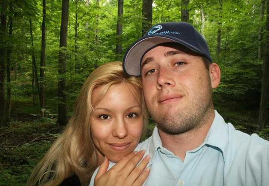 Jodi Arias, left, murdered Travis Alexander, right, by shooting him in the head and stabbing him nearly 30 times, prosecutors said.