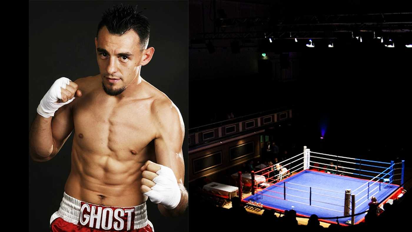 "Robert ""The Ghost"" Guerrero lives and trains in Gilroy."