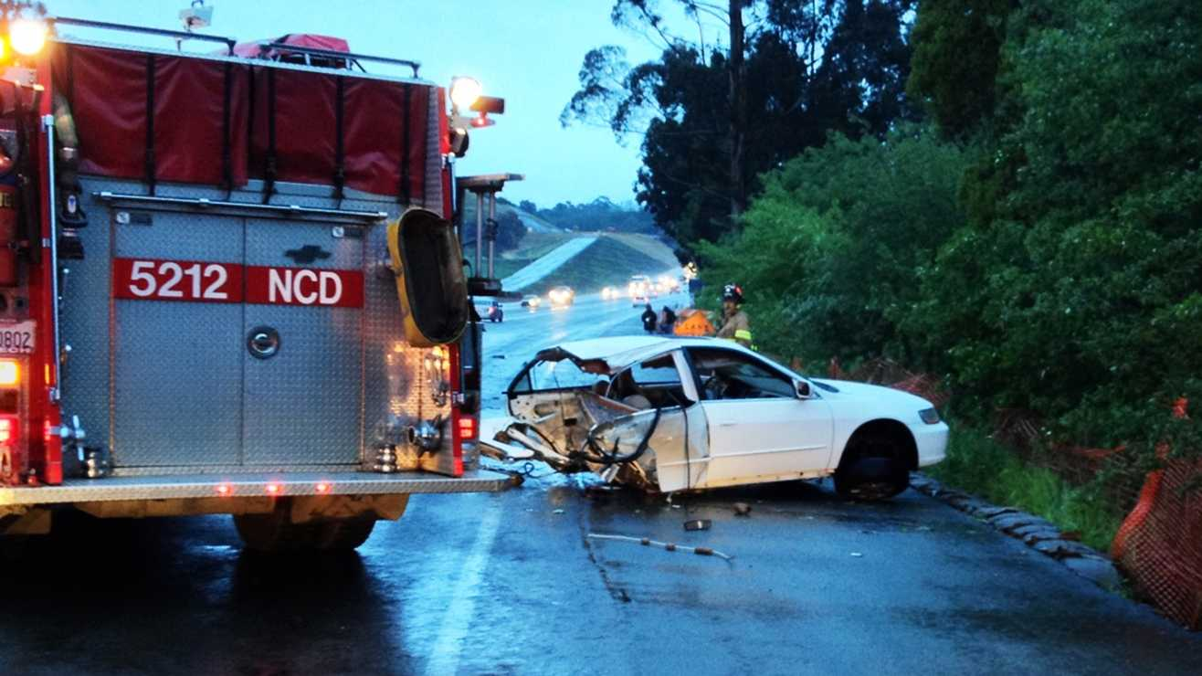 One person died in this Highway 101 crash in Prunedale.