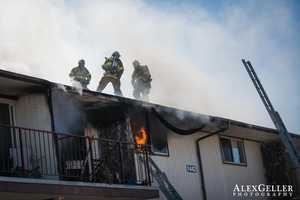 The fire broke out at 10:55 a.m. Wednesday at 1442 Yosemite St. near Sonoma Street.