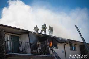 Seaside fire (April 10, 2013)