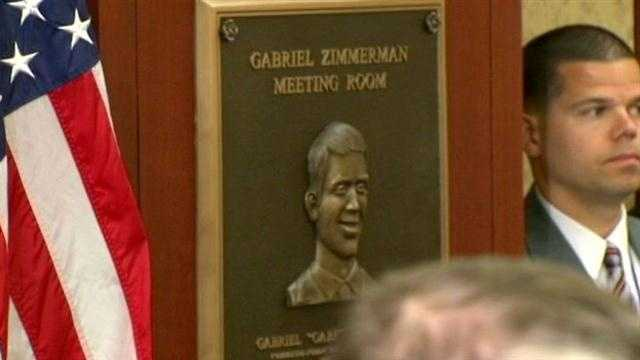 Slain UCSC student Gabe Zimmerman honored on Capitol Hill