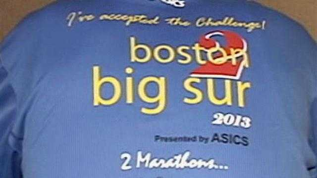 Big Sur Marathon Expo honor Boston bombing victims