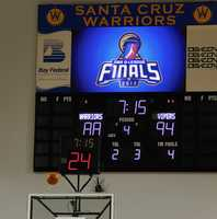 The Warriors' final home game of their first season in Santa Cruz was against the Vipers during Game 1 of the NBA Development-League Championship Finals.