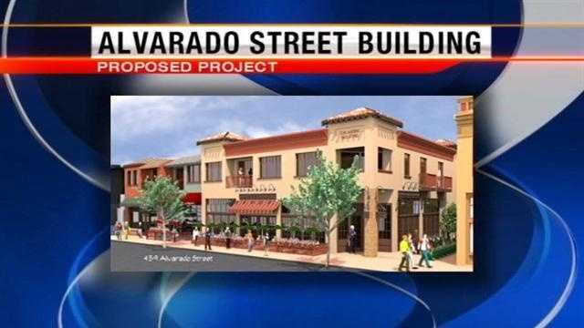 Monterey developer plans new buildings on Alvarado Street