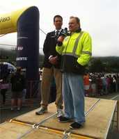 KSBW Sports Anchor Dennis Lehnen reports at the 2013 Big Sur International Marathon
