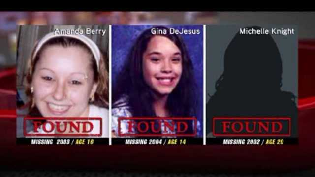 Missing Ohio women Amanda Berry, Georgina DeJesus, Michelle Knight