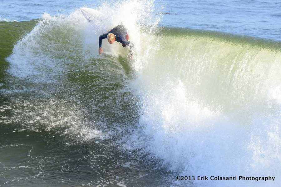 May 2013 surf in Santa Cruz