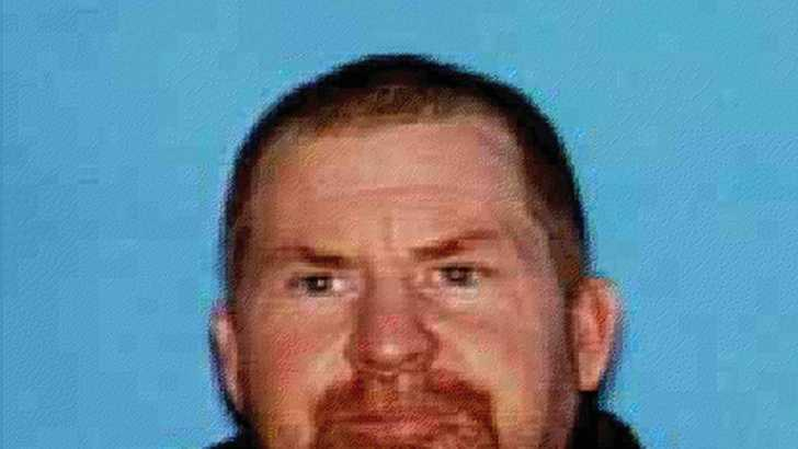 Shane Franklin Miller, 45, is on the run.