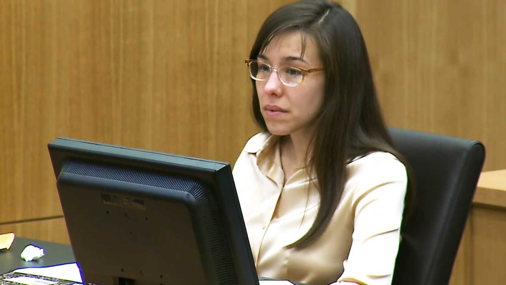 Jodi Arias in court on Wednesday, May 15, 2013.