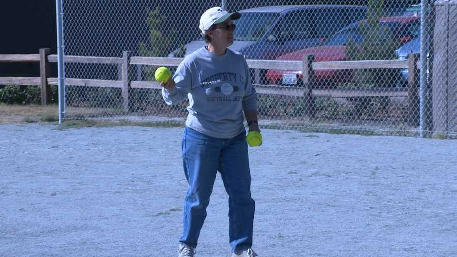 KSBW Golden Whistle Award winner: Girls Softball Coach Sally Cardinale -- Stevenson School in Pebble Beach