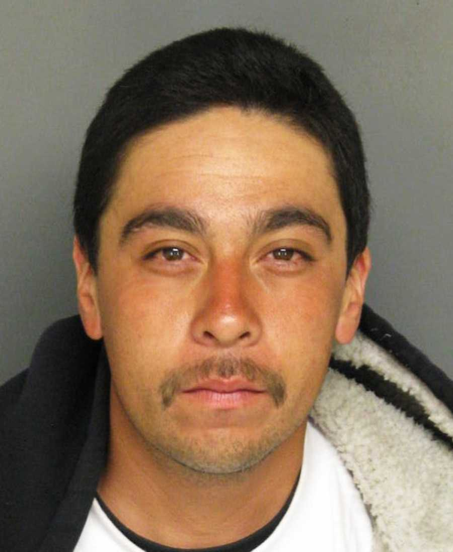 Police identified the three men as 21-year-old Eric Ortiz, 30-year-old Mike Rivera (seen here), and 29-year-old Eric Reeve.
