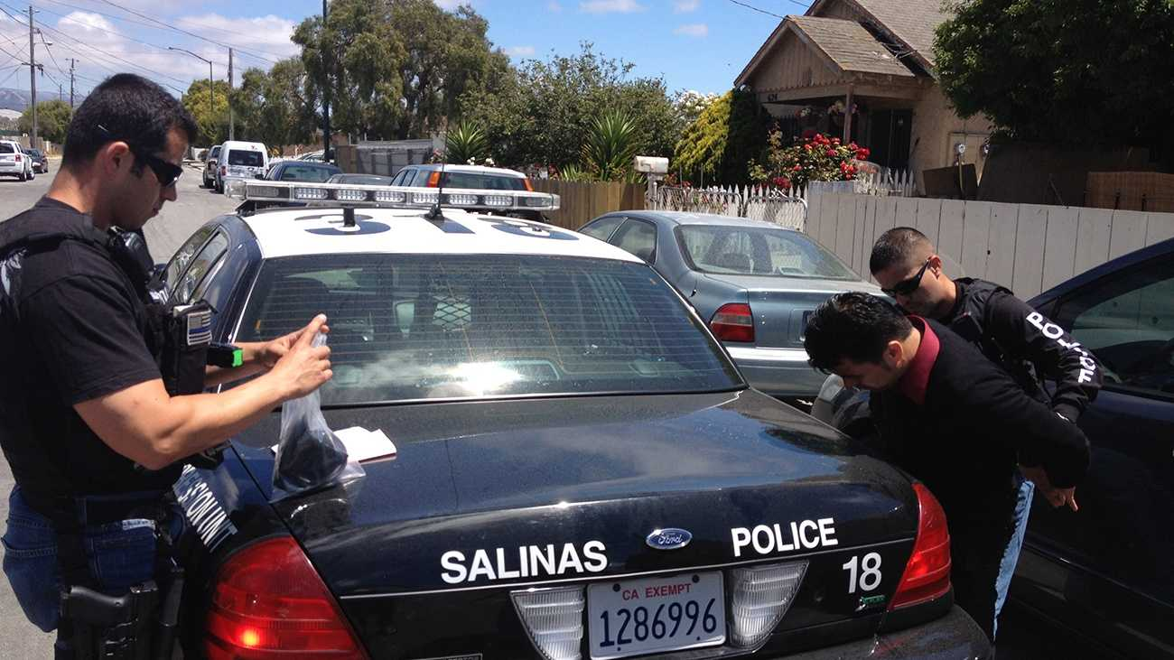 A Salinas man is arrested on child porn charges Wednesday. (May 29, 2013)