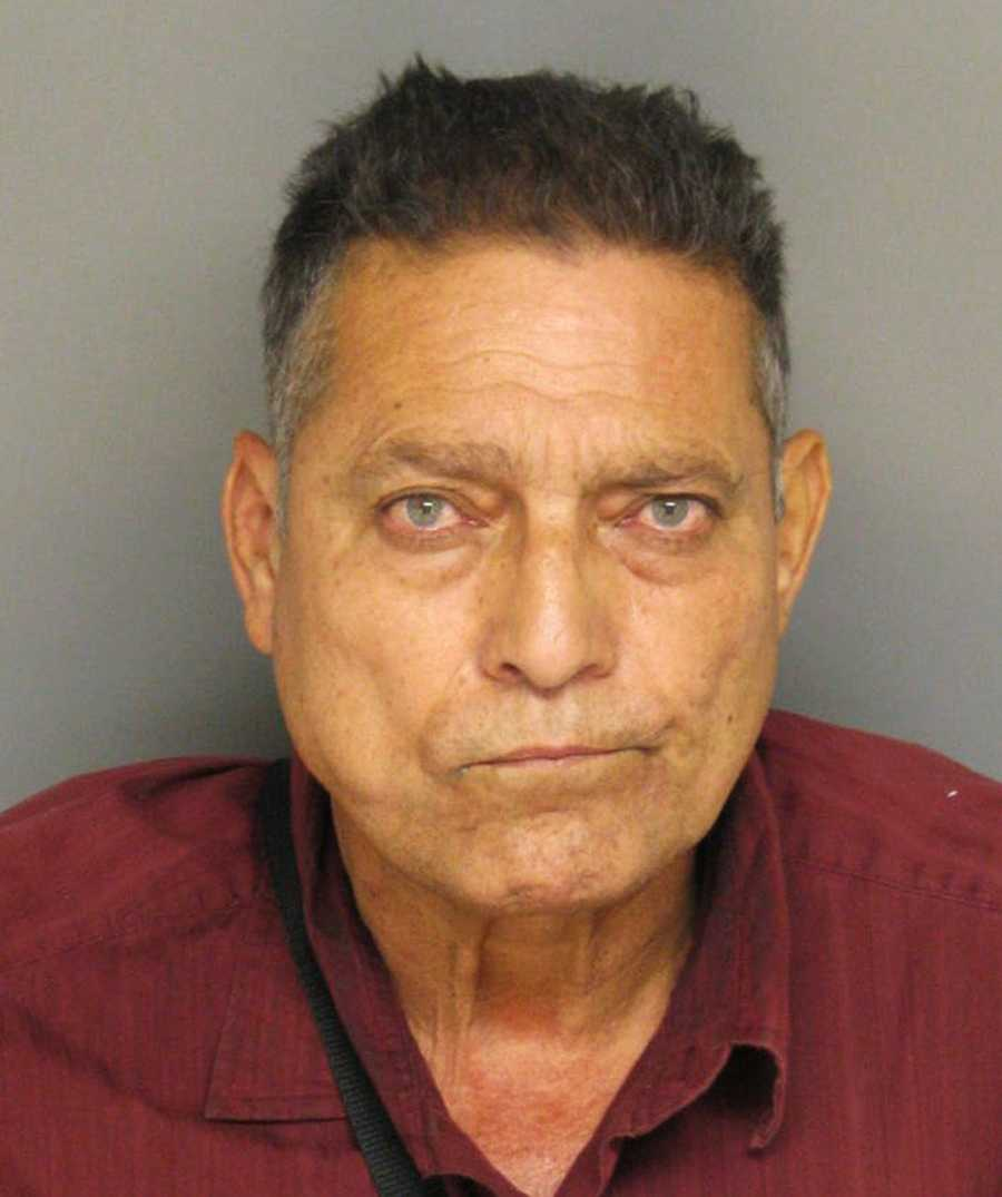 Jesus Santellana, 60, of Soledad, was arrested after his 34-year-old wife, Rosa Esmeralda Martinez, told police officers that there were a lot of illegal drugs in their house on Sausalito Way. Officers said they found 1 pound of cocaine, $12,600 in cash, and an illegal assault rifles in the house. The couple was arrested on June 4, 2013.