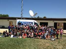 KSBW weather forecaster Art Jarrett serves the Central Coast each weekend on KBSW Action News 8 at 6 p.m. and 11 p.m. On Thursday, he got to meet all of the great students at Cerra Vista Elementary School in Hollister.