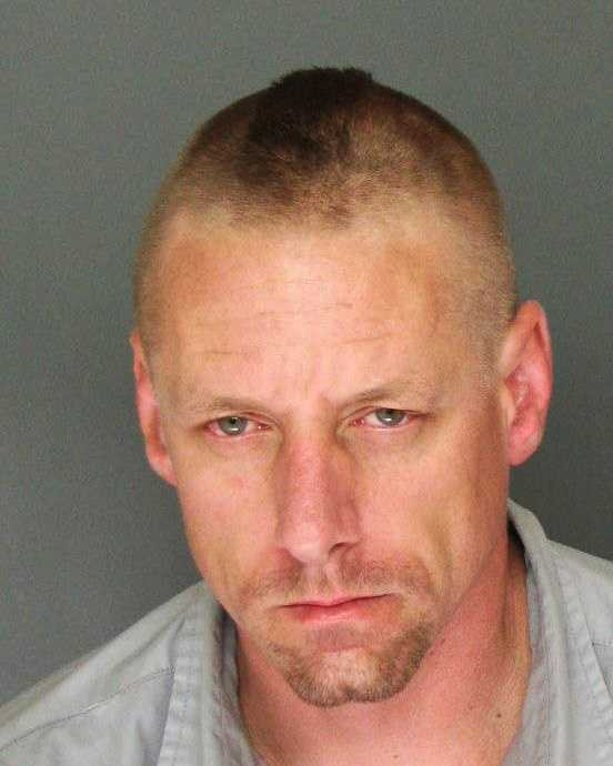 Aaron Hamrick, 37, of Santa Cruz, was arrested for selling drugs near a school, elder abuse, and maintaining a drug house.