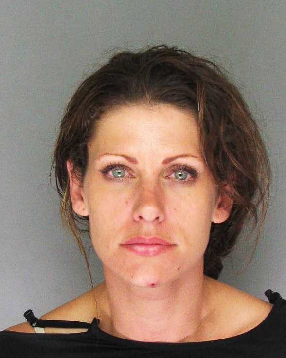 Jodi Widman, 30, of Santa Cruz, was arrested for possession of methamphetamine and heroin, as well as resisting arrest.