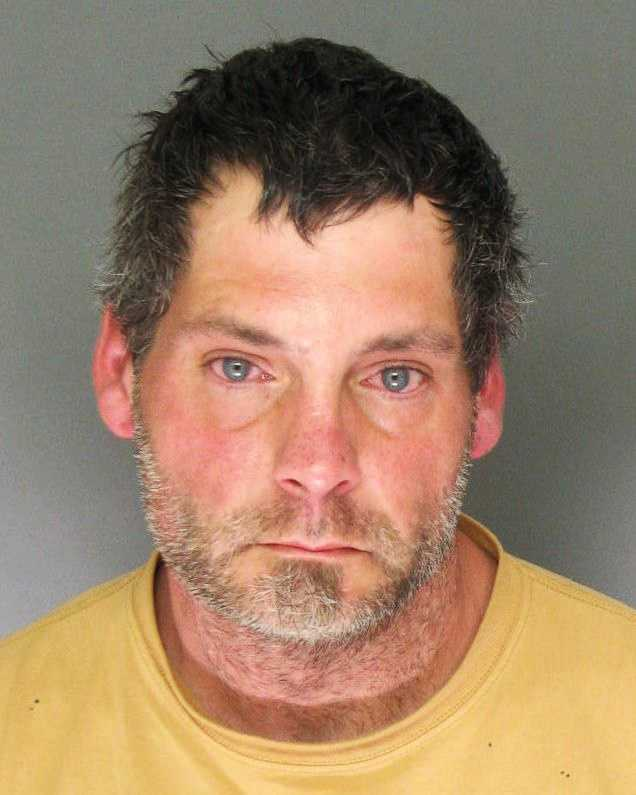 Perry Brown, 42, of Santa Cruz, was arrested for outstanding warrants.