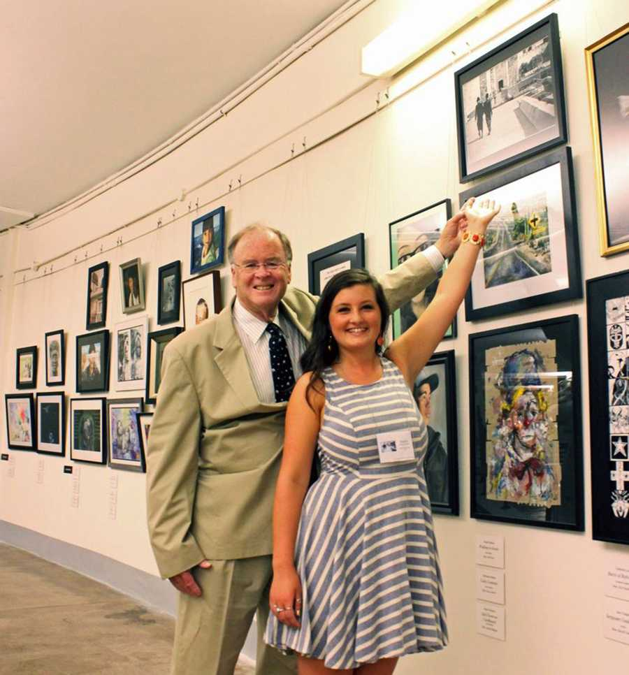 """""""I would like to congratulate Rachel Martin on her inspiring piece,"""" Rep. Sam Farr said. """"It is great to see all of these wonderful pieces from the next generation of artists from the talent-rich Central Coast."""""""