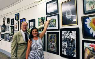 She met with U.S. Rep. Sam Farr to hang her photograph in the halls of the nation's Capitol in Washington D.C. VIDEO: Meet Aptos artist Rachel Martin