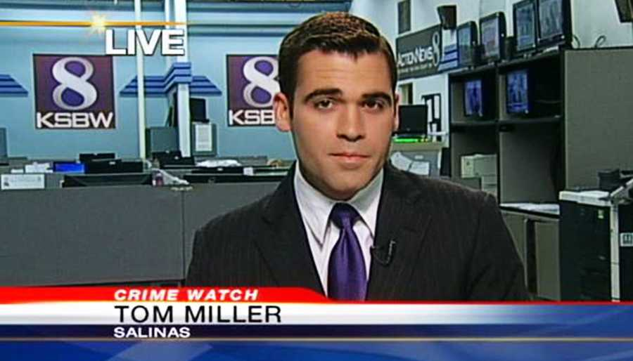 KSBW Reporter Tom Miller followed behind the chase from Highway 68 in Monterey all the way to Morro Bay in San Luis Obispo County. He rode in a live satellite truck and his cameraman who was driving stayed under the speed limit.