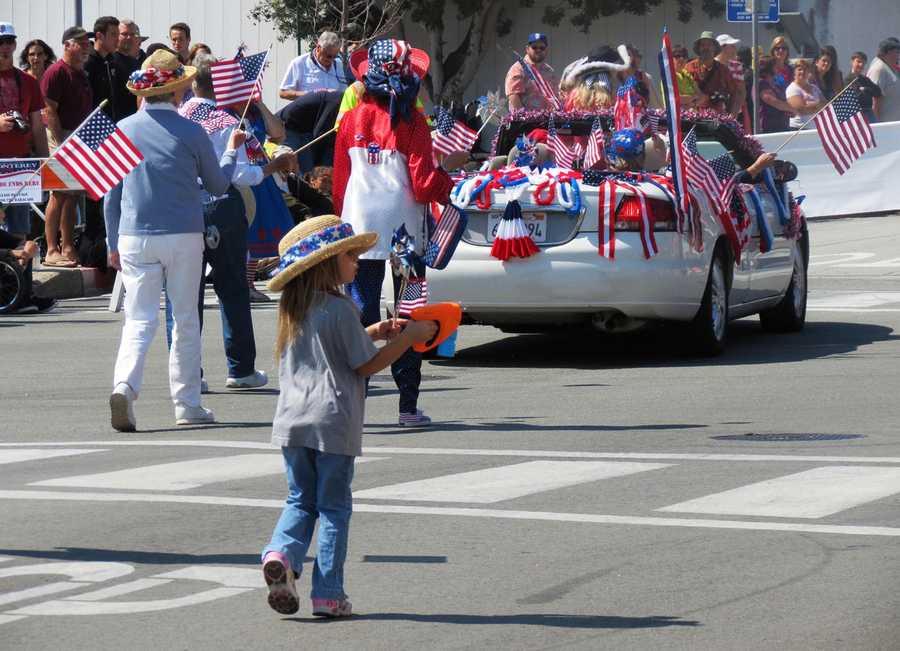 Monterey parade / July 4, 2013