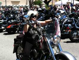 Hollister motorcycle rally  (July 5, 2013)