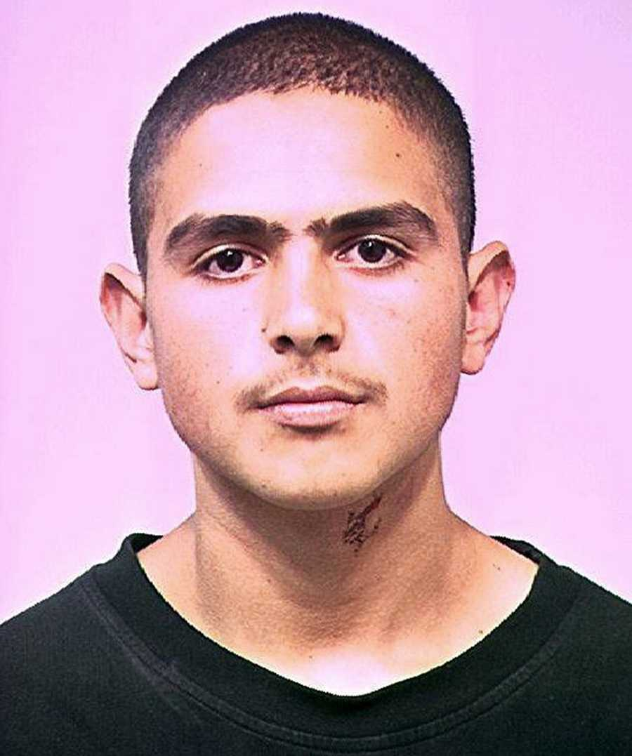 Jose Gallegos, 27, has been wanted by the Santa Cruz County Sheriff's Office on arson charges since 2002.