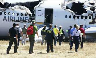NTSB investigators head tothe the Asiana Airlines Boeing 777 crash.