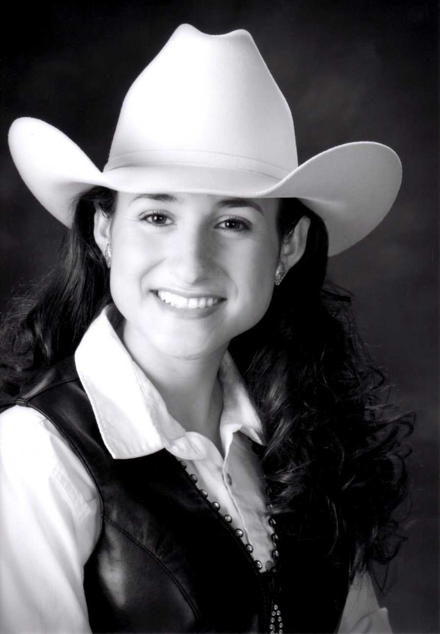 Marin Wolgamott was a finalist contestant. Wolgamott, a southern Monterey County cowgirl, carries the title of Miss Cal Poly Rodeo. The daughter of Duane and Brenda Wolgamott of Lockwood majors in Wine and Viticulture with a concentration in Enology at Cal Poly San Luis Obispo. From planting, to bottling, and opening a new tasting room, Marin has gained valuable experience as a part of her family's vineyard and wine business. She dreams of traveling and working in the wine making countries of France and Italy. In addition to competing for three years on the Cal Poly Equestrian Western Show Team, Marin has experience in cutting and most recently reined cow horse events. Marin learned a great deal about agriculture, responsibility, leadership and showmanship as an active 4-H member and believes in giving back to her local 4-H community as a sheep project co-leader and volunteering a week of her time at 4-H Summer Camp every summer.