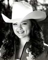 Erin Stueve was a finalist contestant.She entered as Miss Rodeo Oakdale and she is the daughter of Robert and Deborah Stueve. While currently attending CSU Fresno as a Speech-Language Pathology major, Erin has hopes of being admitted into their Masters Program to become a licensed, practicing Speech-Language Pathologist by 2016. With past experience showing western pleasure and reining, she also loves camping with her family and horses during the summer as a great way to appreciate nature. In recent years dedication to hard work, learning from awesome individuals and encouragement from a loving family have given Erin the opportunity to represent great rodeos and associations as their queen. Erin has always been very involved in community service and volunteering. She has raised puppies for Guide Dogs for the Blind and has volunteered at a summer camp for visually impaired youth. When not attending school or working, Erin loves spending time outdoors snowboarding, wakeboarding and playing sports.