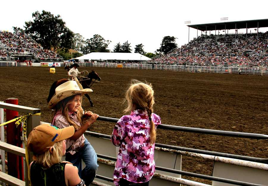 Final day of the 2013 California Rodeo Salinas (July 21, 2013)