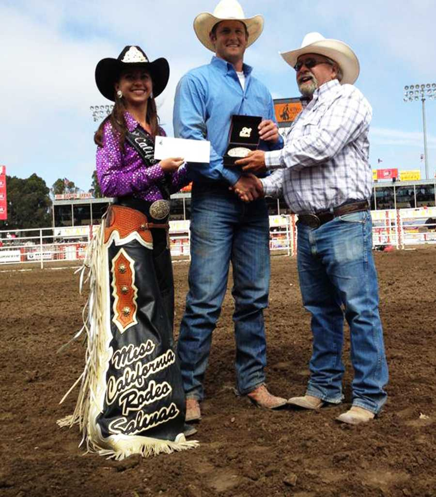 The new 2013 Miss California Rodeo Salinas queen grew up in San Benito County.