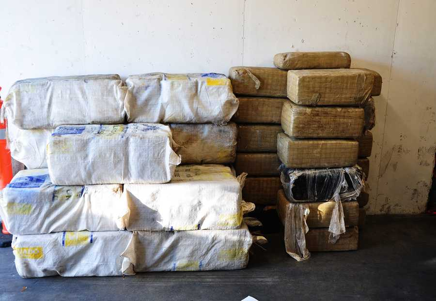 Four men were arrested in Santa Cruz County on suspicion of smuggling more than $2 million worth of marijuana. The weed was smuggled on a boat that went to shore in Davenport.