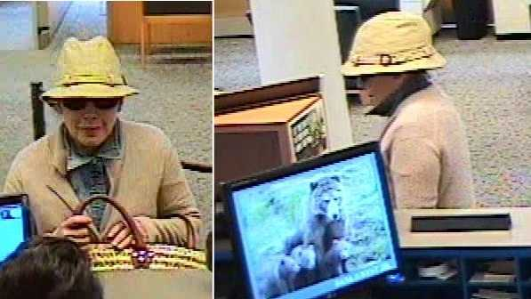 Police are looking for a woman believed to be in her 40s who robbed a Bank of the West in Santa Cruz without a weapon.