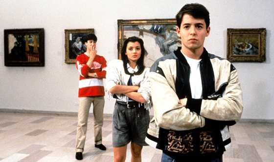 "Matthew Broderick starred as Ferris in the movie ""Ferris Bueller's Day Off."""