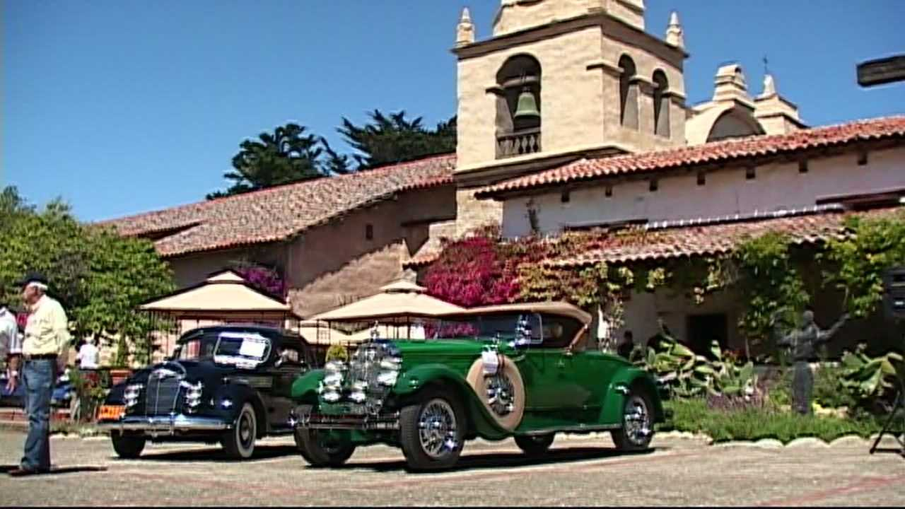 Bugattis, Ferraris galore at Classic Car Week in Carmel