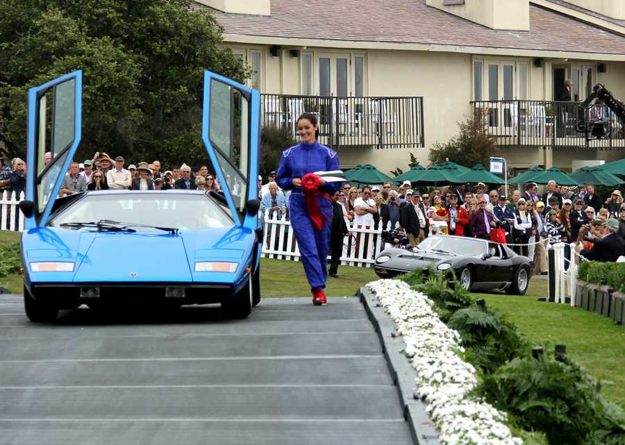The world's most spectacular cars were on display Aug. 18, 2013 for the 63rd Pebble Beach Concours d'Elegance.