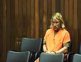 Greiner appeared distraught during his first court appearance.