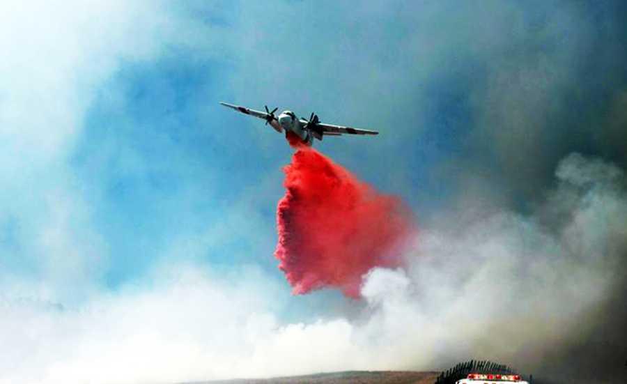 UC Santa Cruz fire (Aug. 26, 2013)