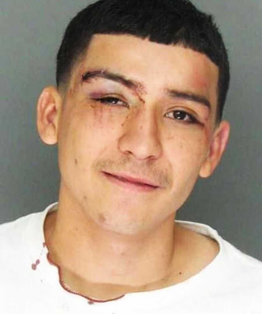 Miguel Garcia, 20, of Watsonville, was arrested for fighting in public on Aug. 24, 2013.