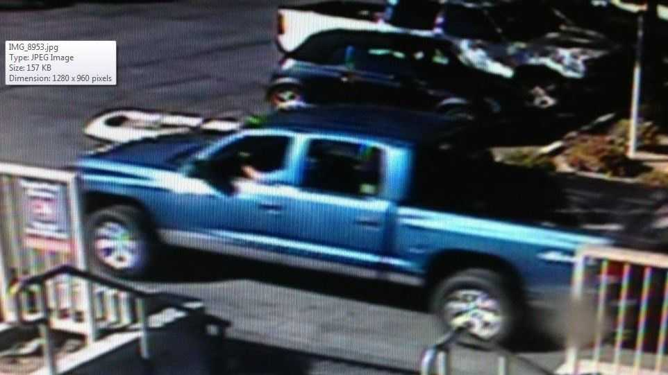 Santa Cruz police are looking for the driver of a truck seen dropping off a stabbing victim at Dominican Hospital on Monday.